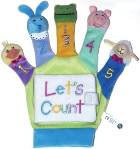 Hand Puppet Board Book Let's Count