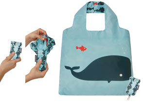 Fold up eco friendly bags