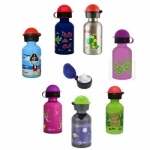 Stainless Steel Twist top Bottles 350ml from Cheeki