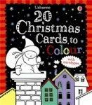 Usborne christmas cards to colour in