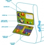 Baby & Toddler play and go activity mat - for car & plane