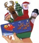 Scholastic Christmas Hand Puppet Board Book