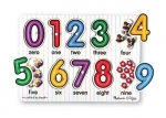 Melissa & Doug - Wooden Numbers Peg Puzzle