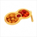 Chip n Dip plate for Kids - Mothers Corn